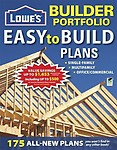 Lowe's Builder Portfolio: Easy-to-Build Plans (Home Plans) by Creative Homeowner Press