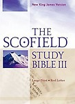 The Scofield Study Bible Iii, Nkjv, Large Print Edition by Oxford University Press,Usa