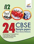 Cbse 24 Sample Papers Physics Chemistry & Mathematics Class 12 : Cbse by Na