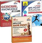 IBPS Bank PO Preliminary and Main Simplified(Guide + 20 Practice Sets + General Knowledge 2017)3rd edition by Disha Experts