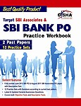 Target SBI Associates and SBI Bank PO Practice Workbook: 2 Past Papers & 12 Practice Sets Paperback
