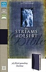 NIV Streams in the Desert Bible: 365 Thirst-Quenching Devotions by L. B. E. Cowman,Jim Reimann