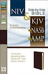 Classic Comparative Side-By-Side Bible-NIV/KJV/NASB/Am Others