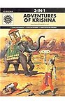 Amar Chitra Katha- Adventures of Krishna: 3 in 1