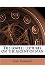 The Lowell Lectures on the Ascent of Man (Paperback)