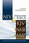 Classic Comparative Side-By-Side Bible-PR-NIV/KJV/Nasv/Am Hardcover