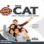 Target New CAT                  by Disha Experts Past (2005 - 2010) + 5 Mock Tests