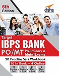 Target Ibps Bank Po/Mt Preliminary & Main Exams 20 Practice Sets Workbook - 16 In Book + 4 Online by Disha Experts