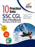 10 Practice Sets SSC CGL Tier I Workbook (New Pattern) by Disha Experts