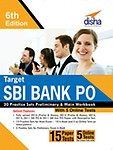 Target Sbi Bank Po 20 Practice Sets Preliminary & Main Workbook With 5 Online Test by Na
