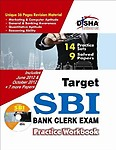 TARGET SBI BANK CLERK EXAM PRACTICE WORKBOOK 14 PRACTICE SETS 9 SOLVED PAPERS W/CD by Na