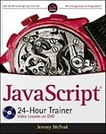 JavaScript 24- Hour Trainer[ With CDROM]