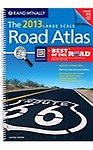 Rand McNally Large Scale Road Atlas: United States