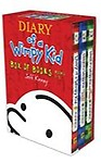 Diary of a Wimpy Kid Box of Books 1-3 by Jeff Kinney