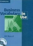 Business Vocabulary In Use                  by Mascull Advanced (Pb + Cd-Rom)