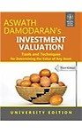 Investment Valuation                  by Aswath Damodaran Tools And Techniques For Determining The Value Of Any Asset, 3/E