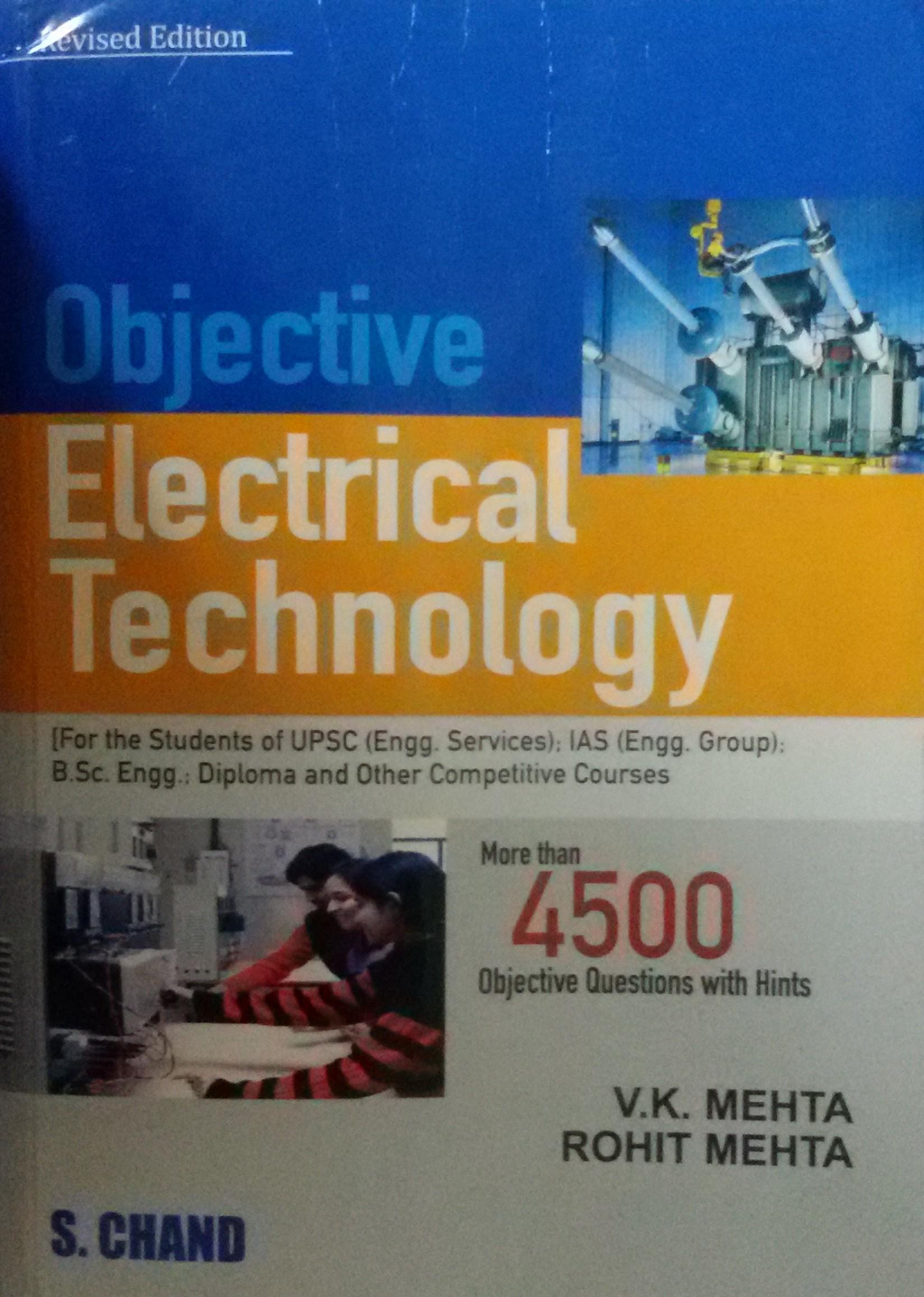 Objective Electrical Technology Revised Edition Price In India