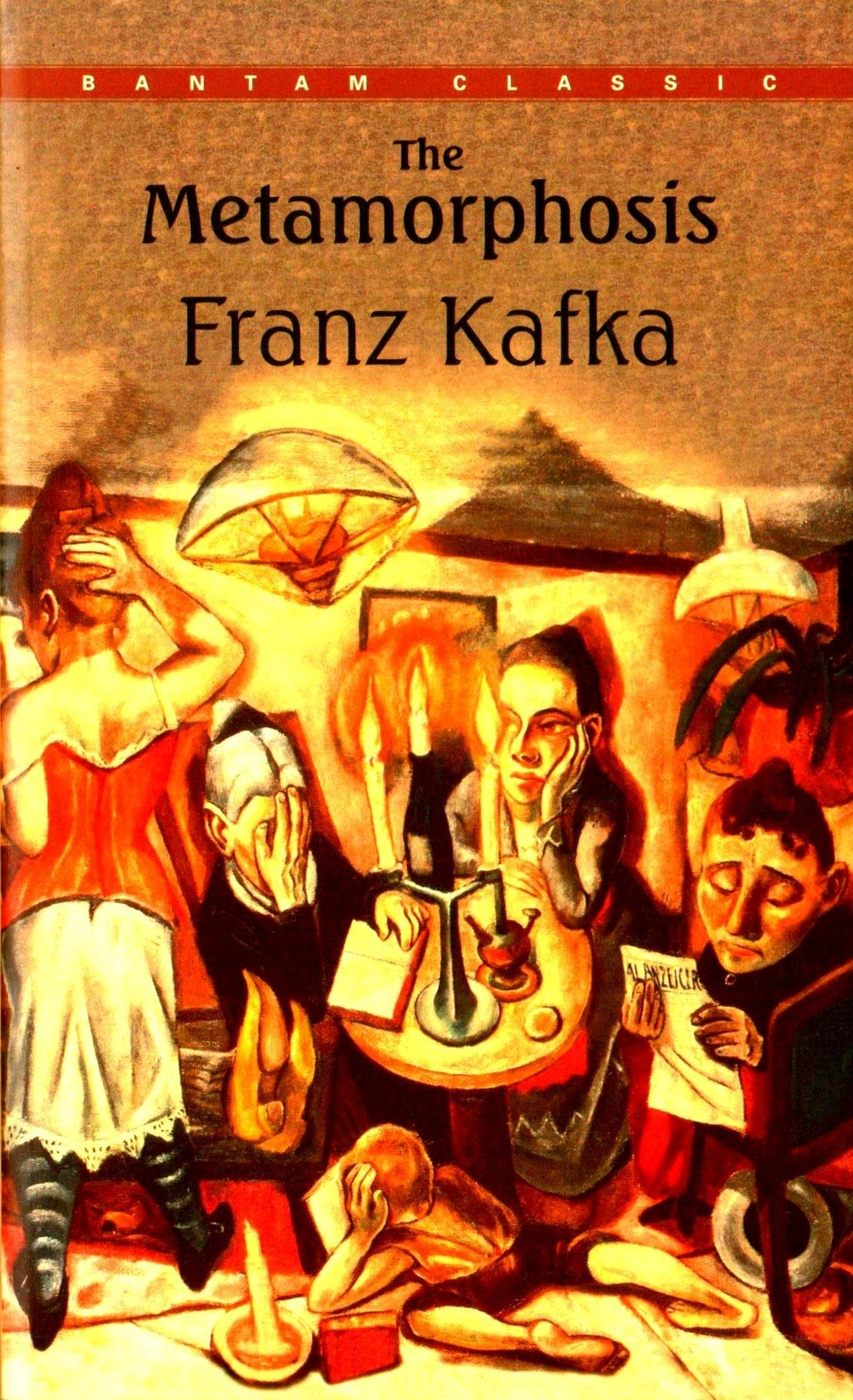 an analysis of gregors transformation in metamorphosis by franz kafka