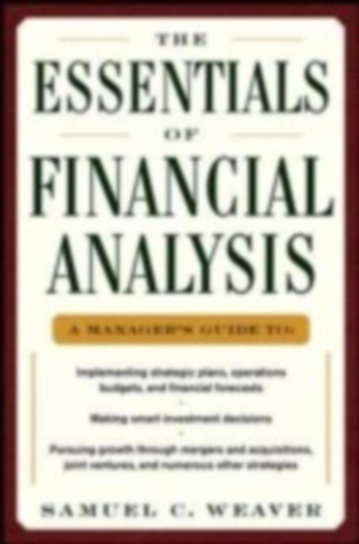 Analysis and Interpretation of Financial Statements ...